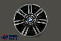 "BMW 3 Series E90 E91 E92 Grey Wheel Alloy Rim M Double Spoke 194 17"" ET:34 8J"