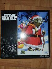 Star Wars Holiday Yoda Santa Jigsaw Puzzle 300 Pieces Buffalo Disney Lucasfilms