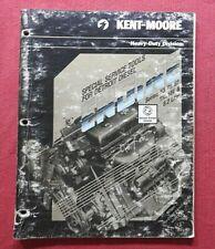 1983 Kent Moore Special Tools For Detroit Diesel Engine Rebuilding Catalog
