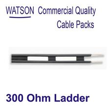 Balanced 300 Ohm Ladder Line Cable Pack 10m Length