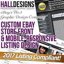 Negozio eBay Custom Shop & Logo e servizio di DESIGN modello di inserzione conforme a 2017