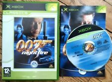 JAMES BOND 007 NIGHTFIRE CLASSICS COMPLET BOÎTE NOTICE XBOX FAT PAL FRA CIB OVP