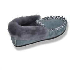 Australian Hand Crafted Sheepskin Moccasins Slippers Water Resistant