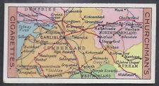 CHURCHMAN-SECTIONAL CYCLING MAP-#06- QUALITY CARD!!!