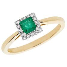Gioielli di lusso smeraldo diamante anniversario