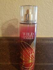 Bath & Body Works Wild Madagascar Vanilla  Fragrance Mist 8 oz Body Spray NEW