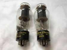 Pair of Western Electric 350B Date Code 752 & 652 - TV7 D/U Tested Strong