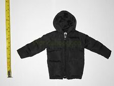 """1/6 Scale Hot Black Down Jacket for 12"""" Action Figure Toys"""