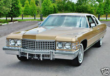1974 Cadillac Coupe Deville, Refrigerator Magnet, 40 MIL