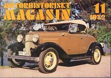 Motorhistoriskt Magasin Swedish Car Magazine 11 1982 Ford V8 Deluxe 040317nonDBE