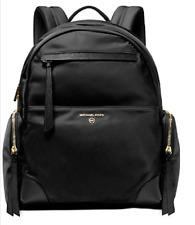 Michael Kors Prescott Nylon Backpack  Black/Gold