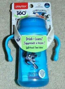~NEW Boys PLAYTEX 360 DC Super Friends Batman BPA Free Cup! 9M+ Cute FS:)~