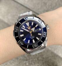 SRPC51K1 Automatic Blue Day & Date Dial Silver Bezel Silver Steel Watch for Men