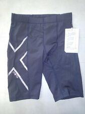 2XU Men's Hyoptik Compression Shorts Steel/Black Size Small Ma3519b (Free Ship)