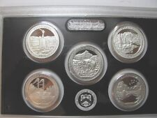 2011 SILVER STATE PARKS QUARTER PROOF SET  no box or COA