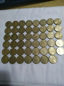 Australian $1 dollar complete circulated coin collection 1984 to 2020  coins set