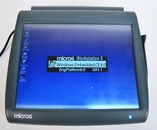 Micros Workstation 5 System Unit 400814-001 Touch Screen Windows Embedded CE