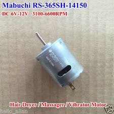 For MABUCHI RS-365SH DC 6V-12V 6600RPM Micro Carbon Brush DC Motor for DIY