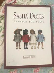 Sasha Dolls Through the Years Book