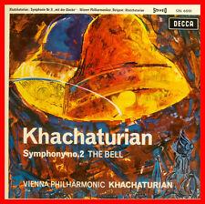"ARAM KHATCHATURIAN SYMPHONY Nº 2 THE BELL VIENNA ORQUESTA FILARMÓNICA DE 12"" LP"