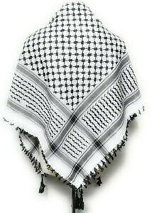 Authentic - New Arab - Yasser Arafat Palestinian - Shemagh - Keffiyeh Scarf Men