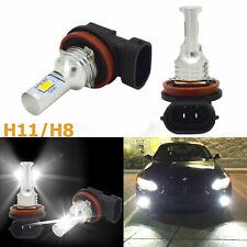 2pcs H8 H11 100W 6000K White LED Fog Lights For BMW 320i 328i 335i 750Li 750i