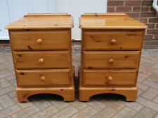 Ducal Bedside Tables & Cabinets with 3 Drawers