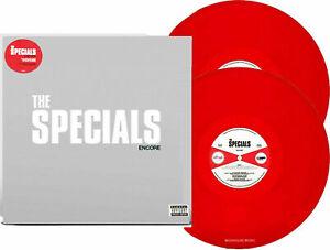 The SPECIALS ENCORE LP + LIVE ALBUM LIMITED EDITION RED DOUBLE VINYL SKA