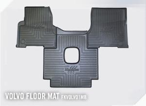 FKVOLVO1MB Minimizer Volvo VNL VT with Manual Transmission Heavy Duty Floor Mats