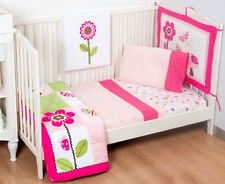 Kidsline Berry Garden 6-Piece Cot Bedding Set-Cot Sheet SetBlanket/Cot top/Quilt