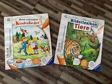 2 Ravensburger Tiptoi Bücher: Kinderlieder, Tiere   (ohne Stift)