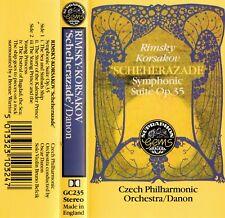 RIMSKY KORSAKOV: SCHEHERAZADE symphonic suite Czech Philharmonic Oscar Danon