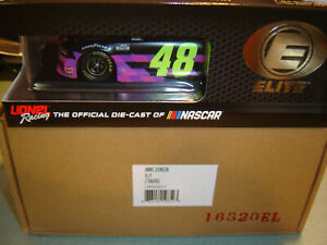 "2020 RCCA / ACTION JIMMIE JOHNSON #48 ""ALLY"" STANDARD PAINT FINISH 1/24 ELITE!!!"