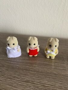 Calico critters sylvanian families Grunt Pig Triplet Babies