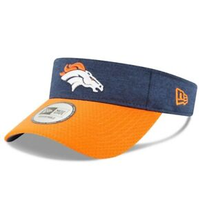 Denver Broncos NFL Adult New Era Official Adjustable Visor - NWT