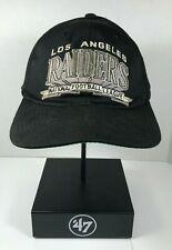 Vintage Los Angeles Raiders Starter Snapback hat cap Oakland NFL memorabilia NWA