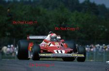 Niki Lauda Ferrari 312 T2 Francés Grand Prix 1977 fotografía 2