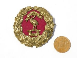 Victorian 1876 LVS Gilt Metal Licensed Victuallers Society Badge LIVERPOOL #X76