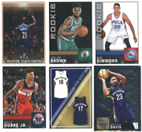2016-17 Panini NBA Basketball Stickers - Base & RC - Pick From Card #'s 1-250