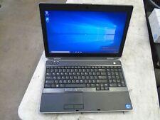 """15.6"""" Dell Latitude E6530 i5-3210M 2.50GHZ 8GB 320GB Windows 10 Pro Notebook"""