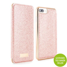 f2963ecb23ac Official Ted Baker iPhone 7 Plus Spritsie Mirror Folio Phone Case - Rose  Gold