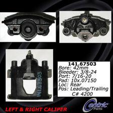 Disc Brake Caliper-Premium Semi-Loaded Caliper-Preferred Rear Centric Reman