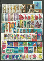 DDR 1972 gestempelt kompletter Jahrgang mit allen Einzelmarken