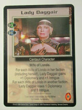 1999 Babylon 5 Ccg - Severed Dreams - Rare Card - Lady Daggair