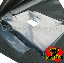 """50 x STRONG GREY POSTAL MAILING BAGS 10x12"""" MAILERS"""
