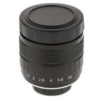 35mm Lens Manual Focus for Panasonic GH5 G7 G9 GX9 GF8 GM1 Mirrorless Camera