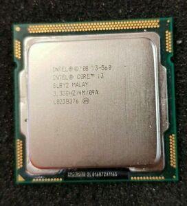 Intel Core i3 560 CPU  3.33 GHz SLBY2 Processor, Socket LGA1156