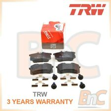 GENUINE TRW REAR BRAKE PADS SET SEAT LEON 1M1 1P1
