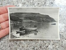 More details for postcard   skye  portree fishing boat  brd115  printers  proof ?  p10e27