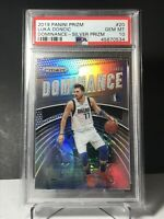 2019/20 Luka Doncic Silver Prizm Dominance PSA 10! LOW POP! Invest Now! Hot!🔥🔥